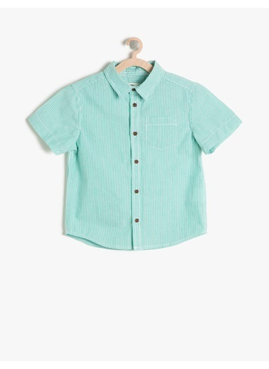 Koton Kids Gömlek Yeşil
